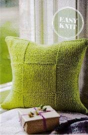 Squares Textured Cushion Cover