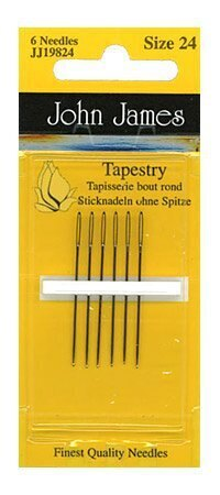 John James Size 24 Tapestry Needles(6)