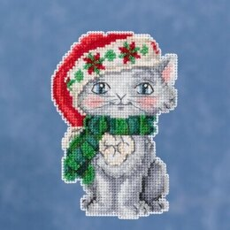 Mill Hill JimShore Pint Size Christmas - Kitty