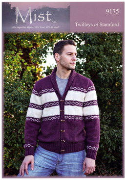 Mens Jacket in Twilleys Mist DK