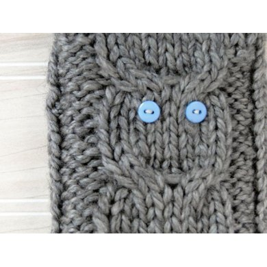 Owl phone cozy- stash buster