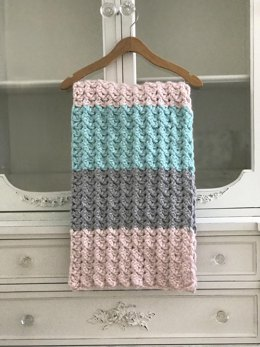 Chunky Love Baby Blanket and Throw
