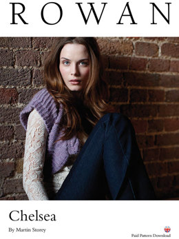 Chelsea Shrug in Rowan Creative Focus Worsted - D144 - Downloadable PDF