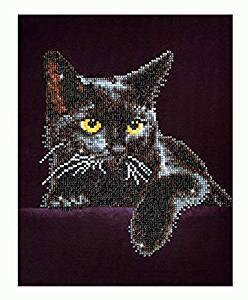 Diamond Dotz Midnight Cat Diamond Dotz Kit - 27.9 X 35.5 cm