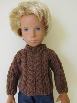 Sasha Doll Cable Knit Sweater