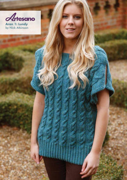 Lundy Sweater in Artesano Aran