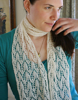 Scarf in Classic Elite Yarns Silky Alpaca Lace