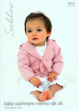 Little Pixie Coat in Sublime Baby Cashmere Merino Silk DK - 6019