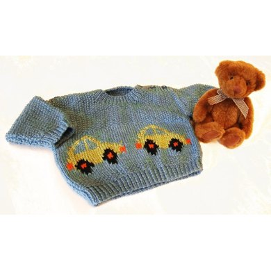 Baby Sweater with motif