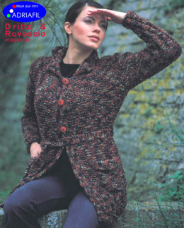 Sky Line Jacket in Adriafil Plum - Downloadable PDF