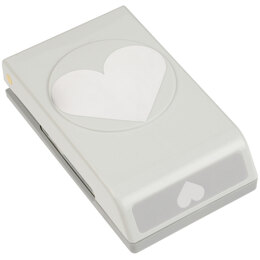 "EK Success Large Punch - Heart, 2.5""X2"""