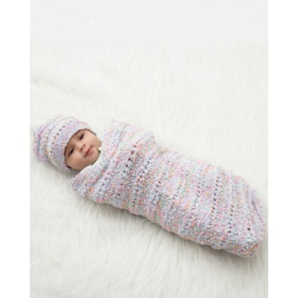Baby Sack and Cap in Bernat Dippity Dots | Knitting Patterns ...