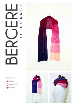 Scarf in Bergere de France Unic