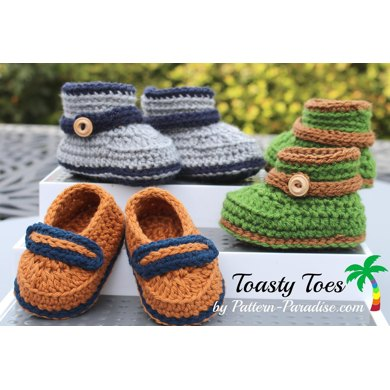 Toasty Toes Booties PDF14-156B