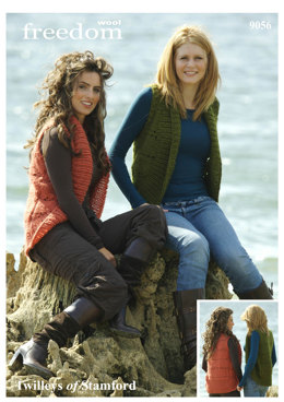 Body Warmer in Twilleys Freedom Wool - 9056
