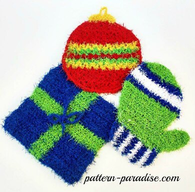 Holiday Scrubbies
