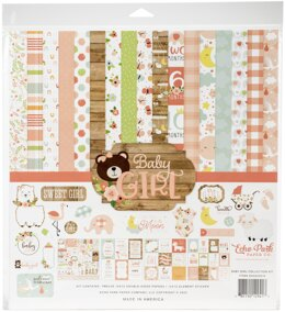 "Echo Park Paper Echo Park Collection Kit 12""X12"" - Baby Girl"