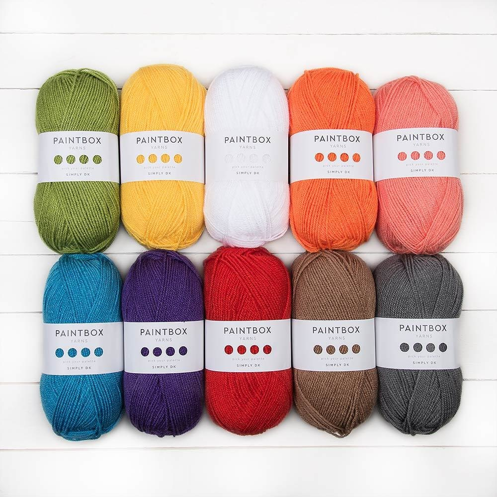 Paintbox Yarns Simply Dk 10 Ball Color Pack