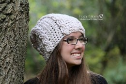 Crochet Cable Baby Beanie Pattern 260