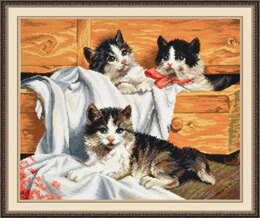 Oven Kittens Cross Stitch Kit
