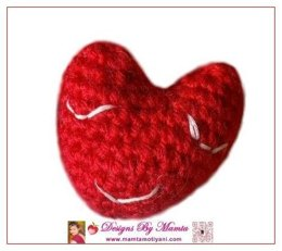 Crochet Baby Heart Amigurumi Pattern For Christmas Valentine