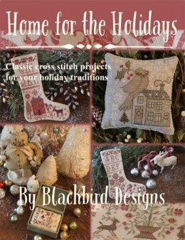 Blackbird Designs Home for the Holidays - Cross Stitch Projects - BD271 - Leaflet