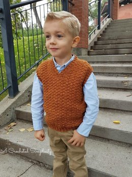 Summit Kids Sweater Vest