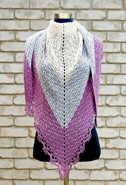 Faded Love Shawl