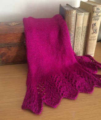 Fine Feathers Lace Scarf