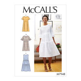 McCall's Misses' Dresses M7948 - Sewing Pattern