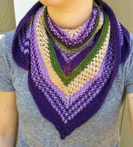 Fields of Lavender Scarf