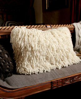 Beeby Cushion in Rowan British Sheep Breeds Boucle