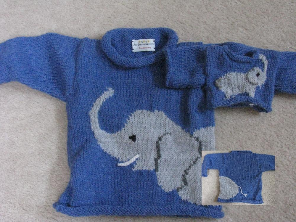 Elephant Knitting pattern by Sandys Creations Knitting Patterns Love...