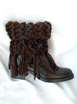 885-Fringed Boot Cuffs