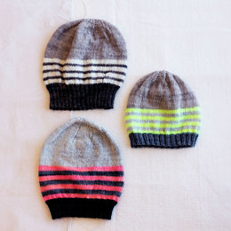 Essential Hats in Madelinetosh Tosh Sock