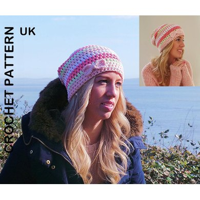 The Spring slouch Beanie UK