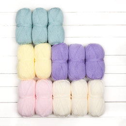Stylecraft Whispers From The Past CAL - Pretty Pastels 13 Ball Colour Pack