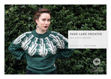 Park Lane Sweater by Katie Moore in The Yarn Collective - Downloadable PDF