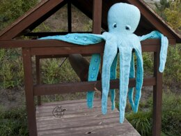 Toy pillow Large Octopus
