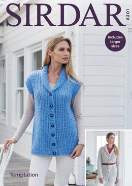 Jackets in Sirdar Temptation - 8201 - Downloadable PDF