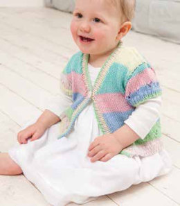 Cardigans in Rico Baby So Soft Print DK - 219