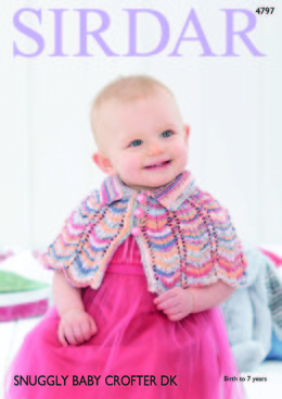 Capes in Sirdar Snuggly Baby Crofter DK - 4797 - Downloadable PDF