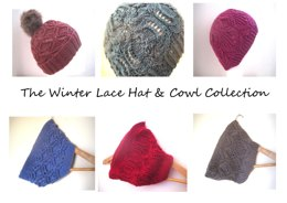 The Winter Lace Hat & Cowl Collection E-Book