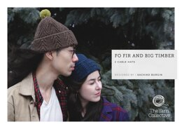 Fo Fir and Big Timber Hat by Sachiko Burgin in The Yarn Collective - Downloadable PDF