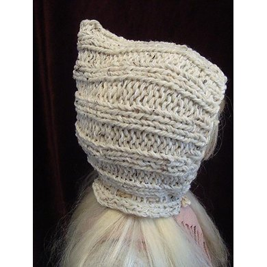 631 KNIT WINTER HOOD HAT, BABY TO ADULT