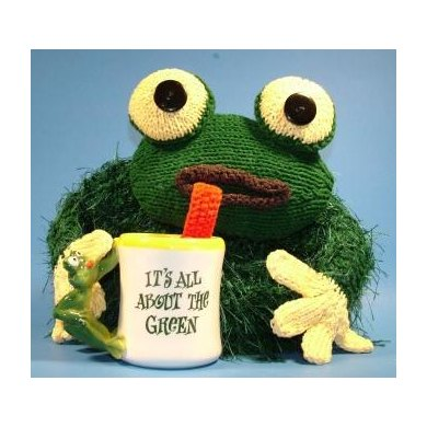 Froggy Tea Cozy