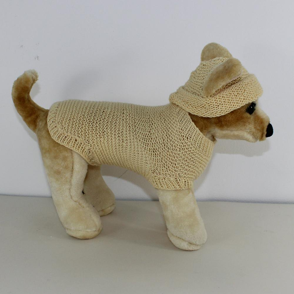 Small Dog 4 Ply Coat & Beanie Hat Knitting pattern by ...
