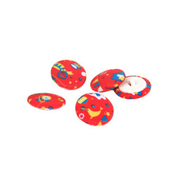 Rico Button Circus Red