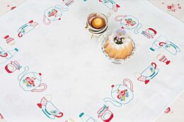 Rico Breakfast 90 x 90cm Embroidery Tablecloth Kit