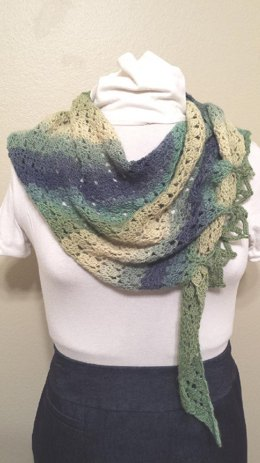 Swirling Maelstrom Shawl